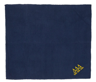 Delta Delta Delta Sherpa Blanket