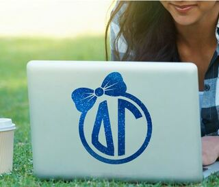 Delta Gamma Bow Decal