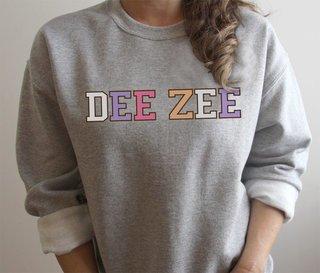 Delta Zeta Nickname Crew Sweatshirt