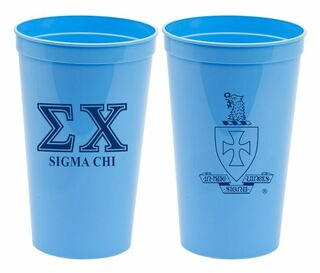 Fraternity Big Crest Stadium Cup - 32oz.