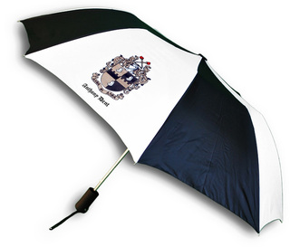 Fraternity Umbrella - crest