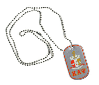 Kappa Alpha Psi Reversible Dog Tags