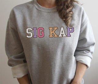 Sigma Kappa Nickname Crew Sweatshirt