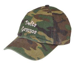 Delta Gamma Camo Hat