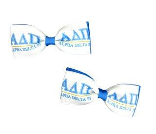 Alpha Delta Pi Bows (Set of 2)