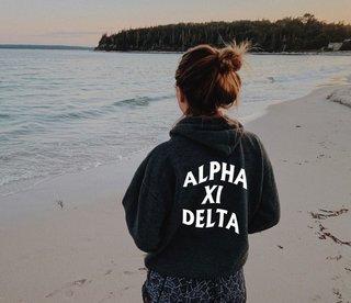 Alpha Xi Delta Social Hoodie