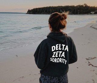 Delta Zeta Social Hoodie