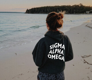 Sigma Alpha Omega Social Hoodie