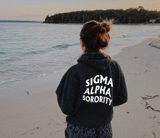 Sigma Alpha Social Hoodie