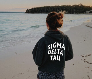 Sigma Delta Tau Social Hoodie