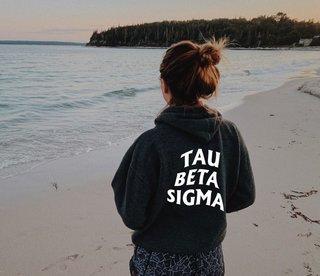 Tau Beta Sigma Social Hoodie