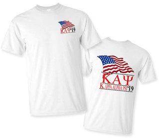 Kappa Alpha Psi Patriot Limited Edition Tee- $15!