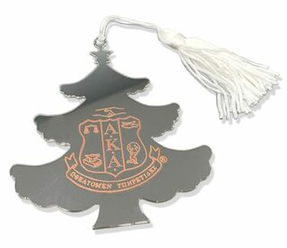 AKA Engraved Christmas Tree Ornament - 50% Off!