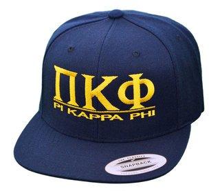 Pi Kappa Phi Flatbill Snapback Hats Original