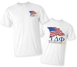 Tau Delta Phi Patriot Limited Edition Tee- $15!