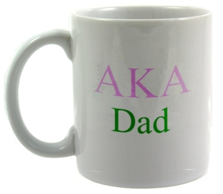 Alpha Kappa Alpha Dad Coffee Cup