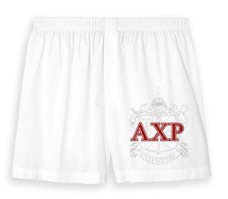 White Cotton Fraternity & Sorority Boxers