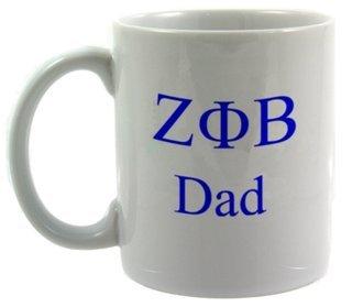 Zeta Phi Beta Dad Coffee Cup