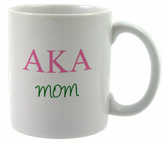 Alpha Kappa Alpha Mom Coffee Cup