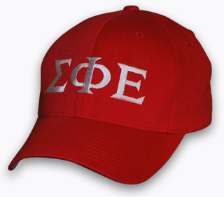 Fitted Greek Letter Hat