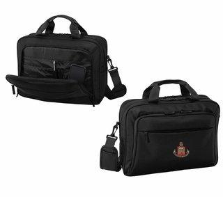 DISCOUNT-Alpha Chi Omega Crest - Shield Briefcase