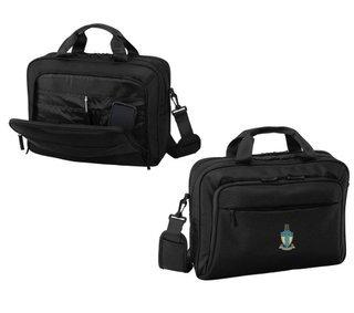 DISCOUNT-Alpha Tau Omega Crest - Shield Briefcase Attache
