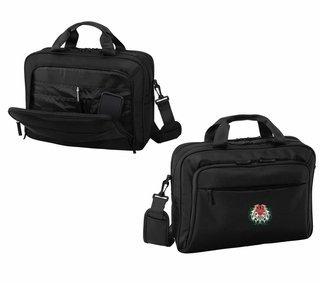 DISCOUNT-Chi Omega Crest - Shield Briefcase Attache