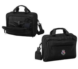 DISCOUNT-Delta Tau Delta Crest - Shield Briefcase Attache