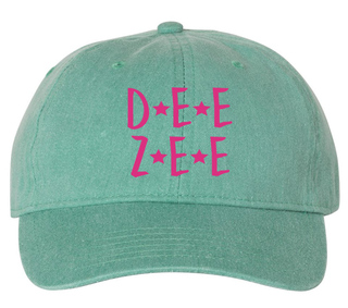 Delta Zeta Starry Night Pigment Dyed Baseball Cap