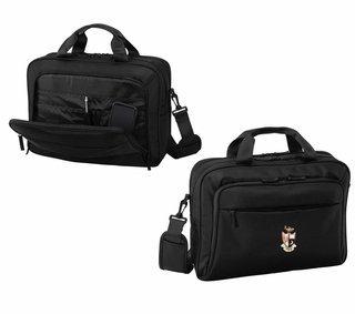 DISCOUNT-Gamma Phi Beta Crest - Shield Briefcase Attache