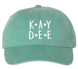 Kappa Delta Starry Night Pigment Dyed Baseball Cap