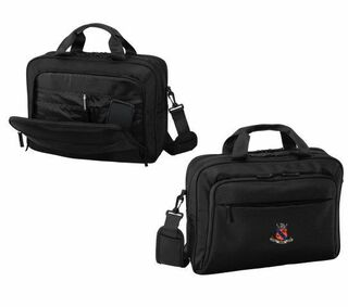 DISCOUNT-Kappa Delta Rho Crest - Shield Briefcase Attache