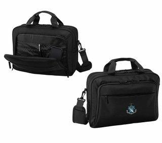 DISCOUNT-Phi Delta Theta Crest - Shield Briefcase Attache