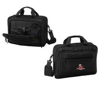 DISCOUNT-Phi Mu Crest - Shield Briefcase Attache