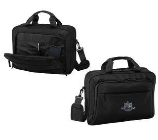 DISCOUNT-Psi Upsilon Crest - Shield Briefcase Attache