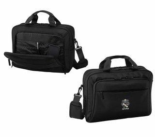 DISCOUNT-Sigma Nu Crest - Shield Briefcase Attache