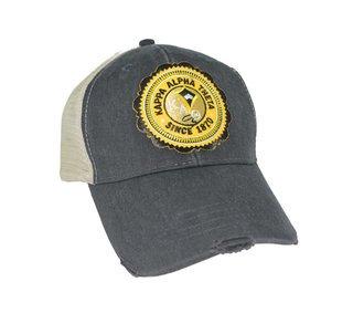 Sorority Seal Patch Trucker Hat