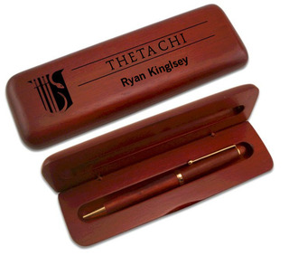 Theta Chi Wooden Pen Set