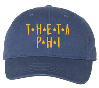 Theta Phi Alpha Starry Night Pigment Dyed Baseball Cap