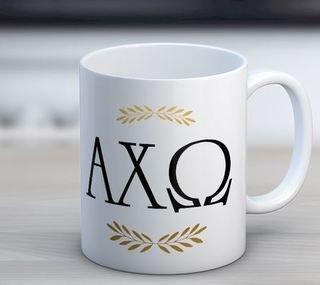 Alpha Chi Omega Wreath Coffee Mug