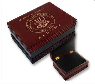 Delta Phi Epsilon Alumna Wooden Keepsake Box