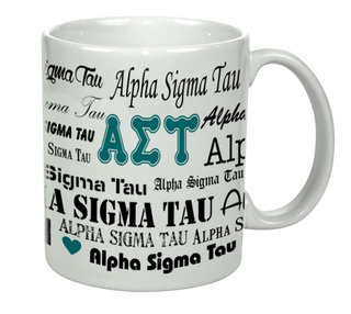 Alpha Sigma Tau Collage Coffee Mug