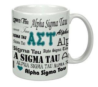 Alpha Sigma Tau Collage Coffee Mug
