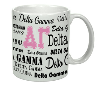 Delta Gamma Collage Coffee Mug