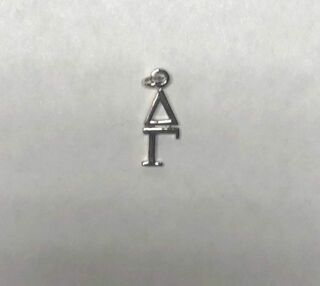 Super Savings - Delta Gamma Premiere Lavaliere - SILVER 1 of 2
