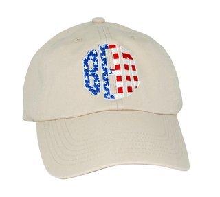 Patriotic Beta Theta Pi Letter Hat