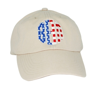 Patriotic Beta Theta Pi Letter Hat