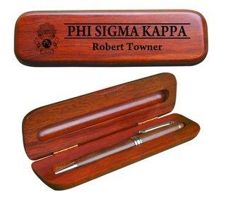 Phi Sigma Kappa Wooden Pen Set