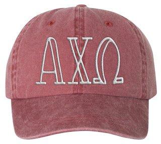 Alpha Chi Omega Carson Greek Letter Hats