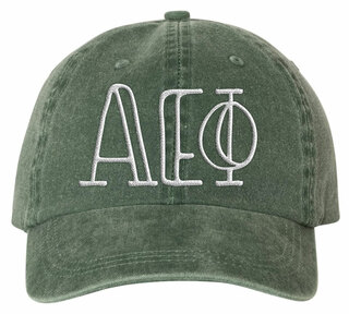 Alpha Epsilon Phi Carson Greek Letter Hats